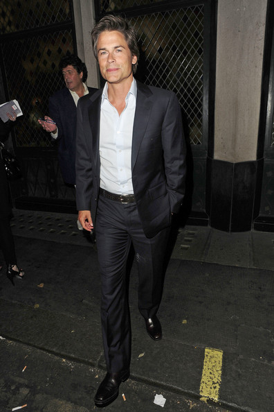 Dapper+looking+Rob+Lowe+leaves+Ivy+London+o59Cm5yGJi8l